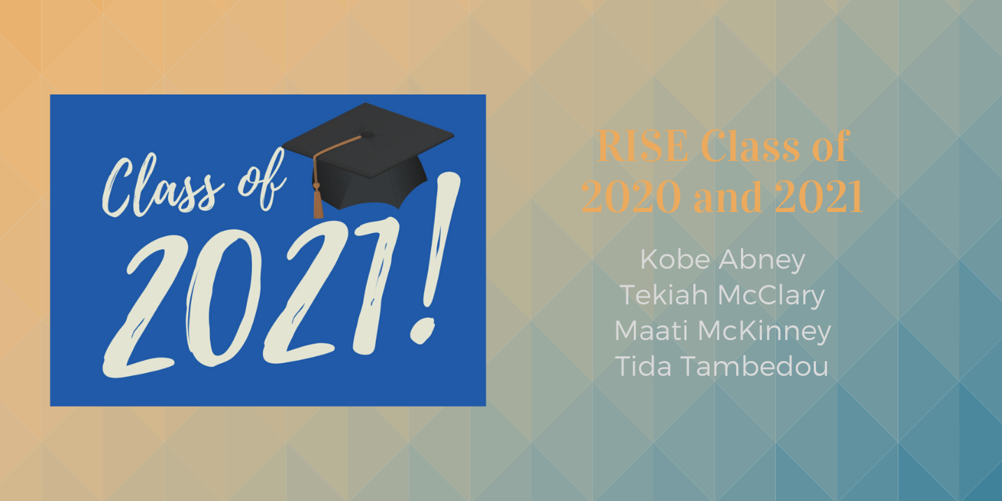 Congratulations to the RISE C'2020 and C'2021 Graduates